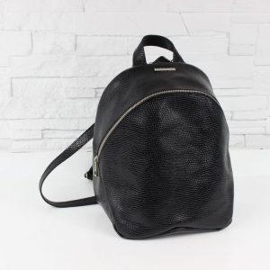 Plecak skórzany – Fabio Plecak ZIP black snake L/D