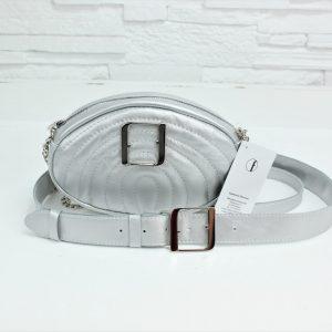 Torebka skórzana – Felicity new PIK Silver L-O