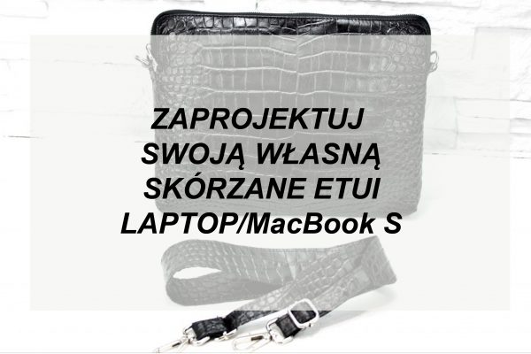 Etui na laptop MacBook S WYBIERZ KOLOR