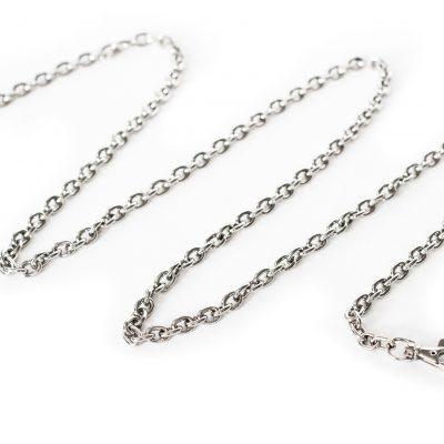 łańcuszek srebrny do torebki