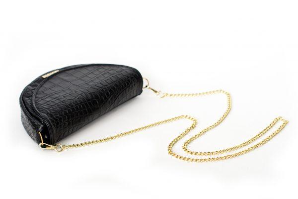łańcuszek złoty do torebki