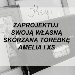 Torebka z Amelia l XS WYBIERZ KOLOR