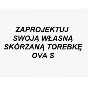 Torebka Skórzana OVA S WYBIERZ KOLOR