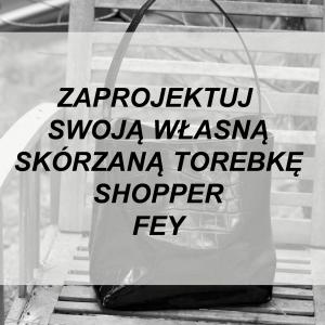 SKÓRZANA SHOPPER FEY WYBIERZ KOLOR