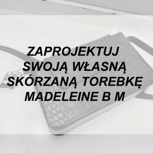 Torebka Skórzana MADELEINE B M WYBIERZ KOLOR