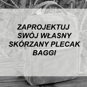 Skórzany BAGGI plecak WYBIERZ KOLOR